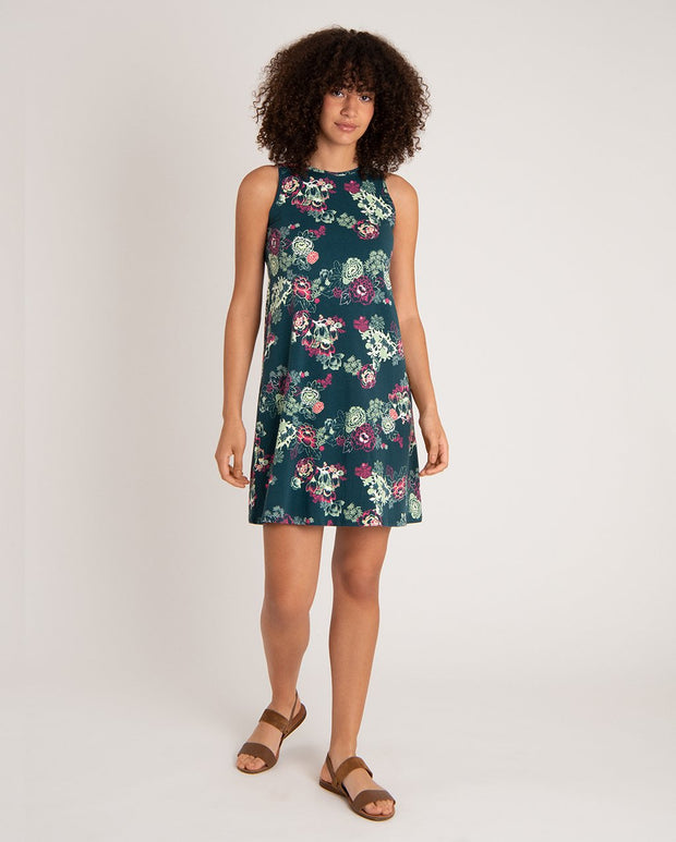 Padma Midi V-Neck Dress