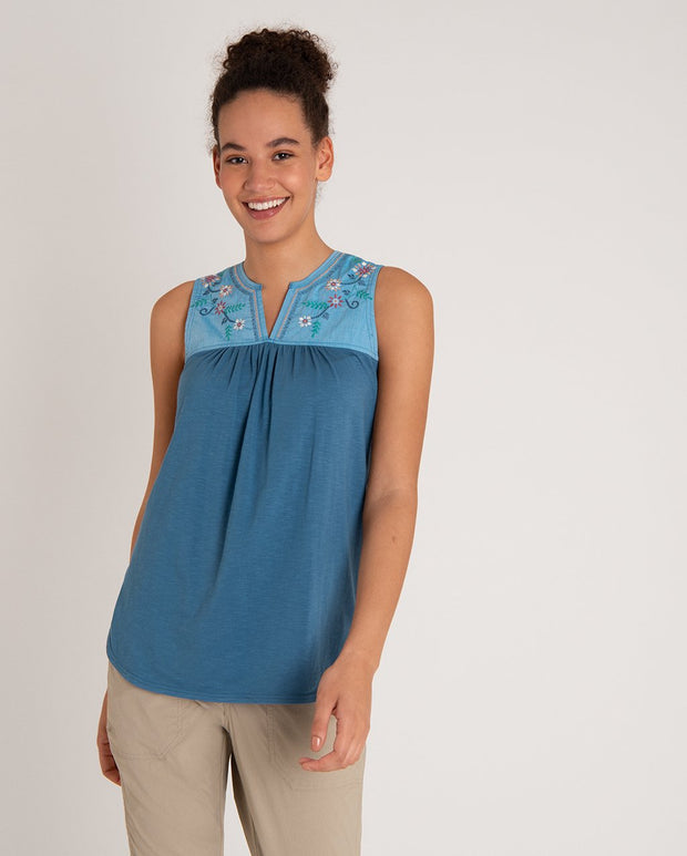 Shaanti Embroidered Tank Top