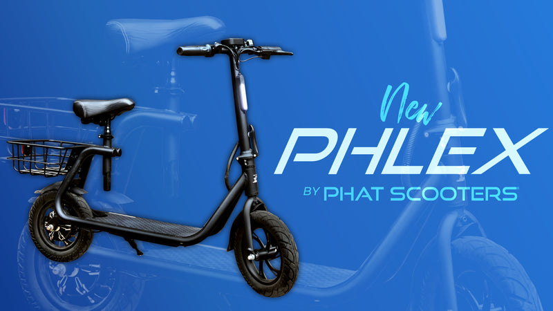 Small but Mighty - Phat Scooters releases the PHLEX