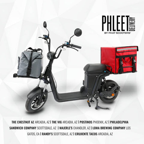PHLEET Restaurant Delivery Scooter