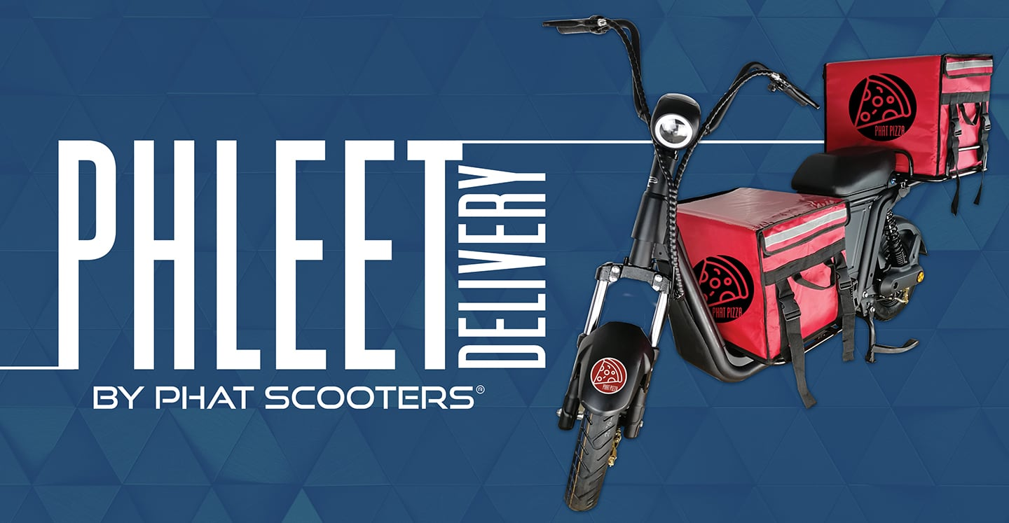 Introducing PHLEET by Phat Scooters
