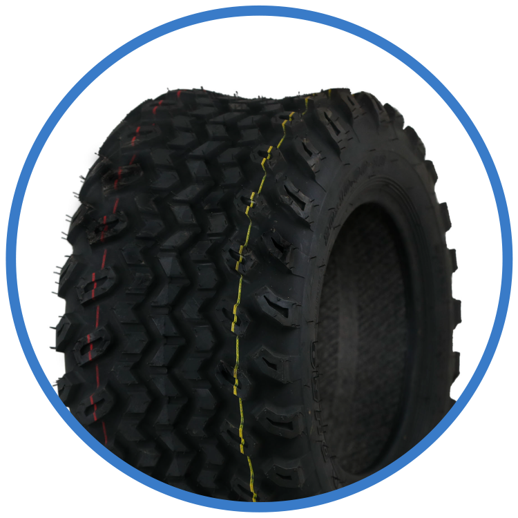 "Knobby Tire Upgrade Set - 8"" Phatty/Sport or 10"" HD"