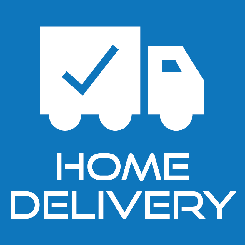 Home Delivery (Exceptions Apply)
