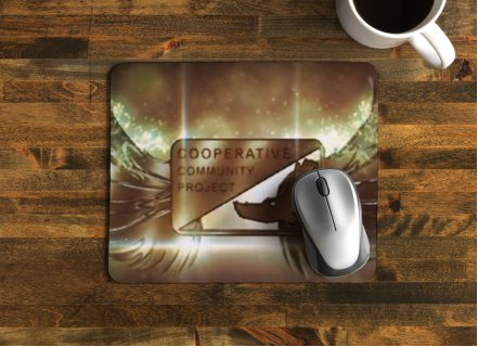 Cooperative Community Mouse Pads