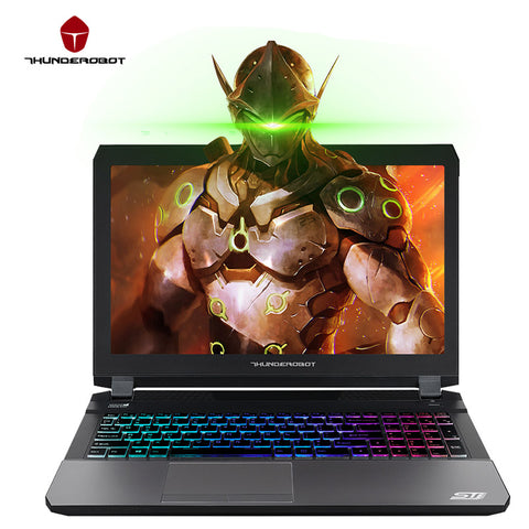 "FREE EXPRESS SHIPPING ThundeRobot ST-Pro Gaming Laptops 15.6"" IPS FHD 1920*1080 PC Tablets GTX1060 Intel Core i7 7700HQ CPU 16GB RAM 512GB SSD Disk"