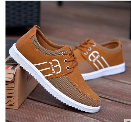 FREE Express Shipping 2016Hot new Spring summer men canvas shoes trend lace up Casual shoes Fashion breathable men shoes 36-44