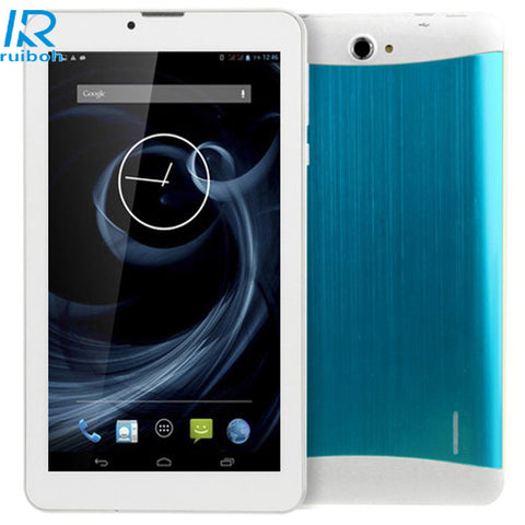 FREE EXPRESS SHIPPING 7 inch PC 3G + Voice function Android 4.4 Tablet PC, RAM: 1G, 16GB CPU: MTK6572 Dual Core 1.3GHz, Dual SIM, 3G + Voice(Blue)