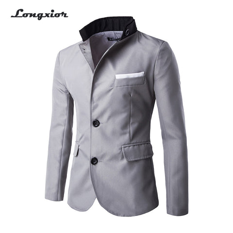 Free shipping  Autumn New Fashion Style Blazer Men,Slim Top design Suit,Korean Slim Suit Coats,M-4XL, Dropshiping MB2