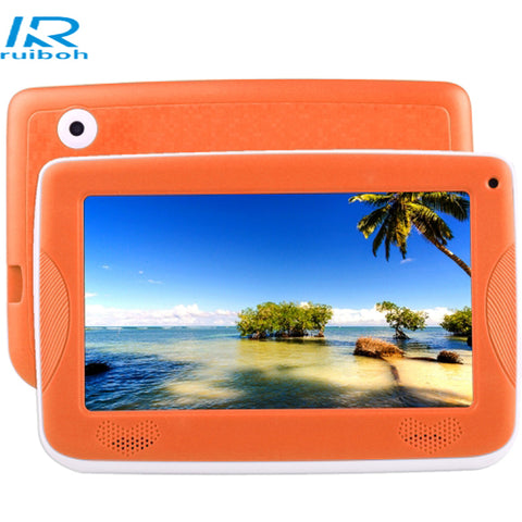 FREE EXPRESS SHIPPING 7.0 inch Children Tablet PC Android 4.4 Astar Kids Education Tablet PC, Allwinner A33 Quad Core, with Silicone Case(Orange)