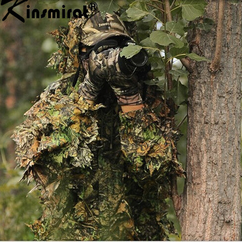 Hunting clothes Camouflage Clothing Tactical Yowie sniper Bionic ghillie snipe camouflage suit jacket and pants