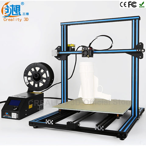Faster Preheat CREALITY 3D CR-10 Large Printing Size 500mm Reprap Prusa i3 3d printer DIY kits free PLA filament 8GB SD card