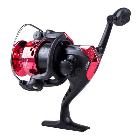 CGDS 3BB Ball Bearings Left/Right Interchangeable Collapsible Handle Fishing Spinning Reel SE200 5.2:1 with High-tensile Gear