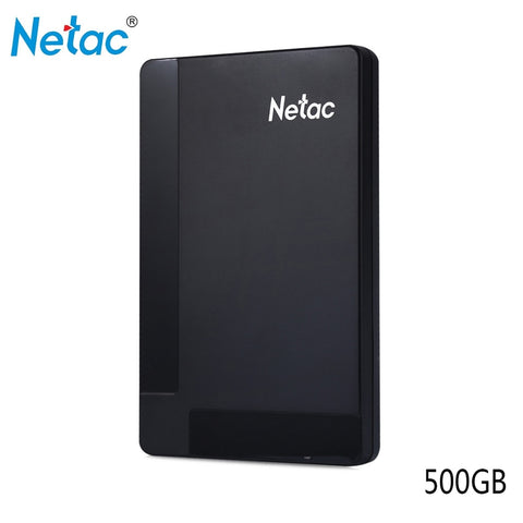 Netac K218 2.5 inch 500GB 1TB USB 3.0 HDD Independent Hardware Encryption External Hard Drive for Desktop Laptop