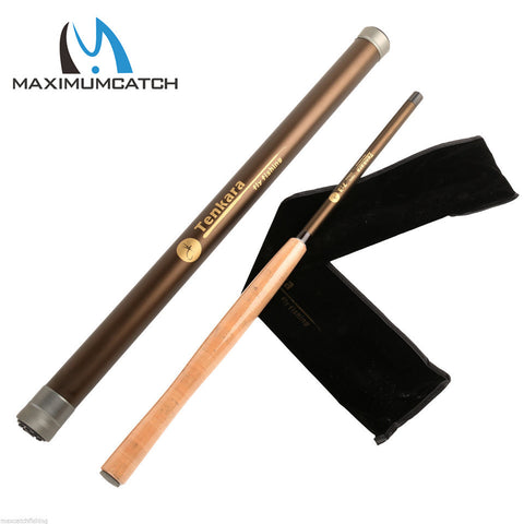 Free Express Shipping Maximumcatch Super Light Tenakra Fly Rod 12FT 7:3 ACTION 9 Segments Carbon Fiber	Fly Fishing Rod