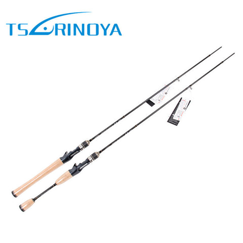 Free Express Shipping Tsurinoya Fishing Rods 1.89m UL Lure Weight 2-8g 2Section Varas De Pesca Canne a Peche Baitcsting Rod FUJI Guide Ring