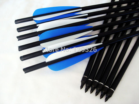 "Free shipping Archery hunting AL crossbow Bolt 20"" 2219 completed w/ nock insert tip vanes hunting equipment, 100 pcs/lot"
