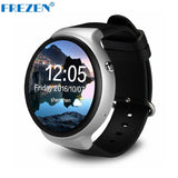 "FREZEN I4 Smart Watch Android 5.1 1GB+16GB MTK6580 1.39"" 3G WiFi GPS Heart Rate Monitor Bluetooth SmartWatch For Android PK KW88"