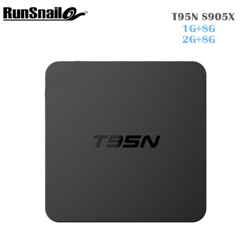 2017 Newest T95N Mini  Android 6.0 TV BOX Amlogic S905X quad-core cortex-A53 1G/8G 2G/8G  Smart Android Tv box media player