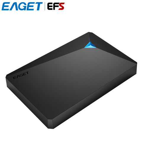 EAGET G20 3TB 2TB 1TB 500GB 2.5'' HDD USB 3.0 High-Speed Shockproof External Hard Drives HDD Full Encryption Mobile Hard Disk