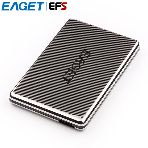 "Hot Sell EAGET G50-500GB 2.5"" Full Stainless Steel USB3.0 HDD High-speed Encryption Shockproof  PC External Hard Drives Disk"