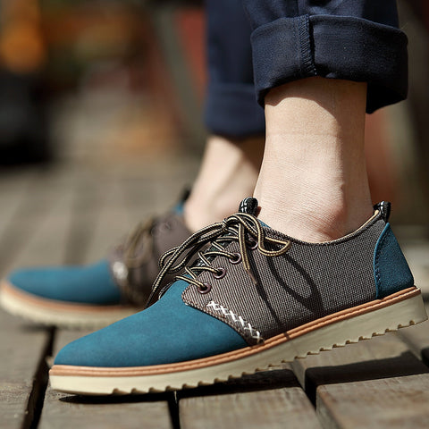 FREE Express Shipping PINSV Casual Shoes Men Leather Shoes Black Brand Espadrilles Men Summer Shoes Chaussure Homme Sapato Masculino