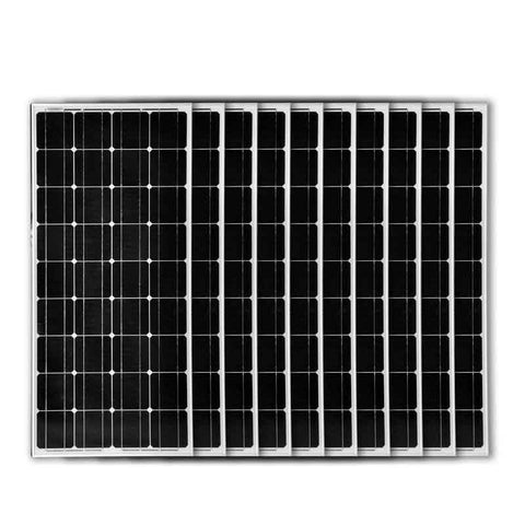 1000w Solar Panel Monocrystalline Solar Cell 12v Solar Battery Charger Photovoltaic Car Home Solar System RV Boats And Yachts