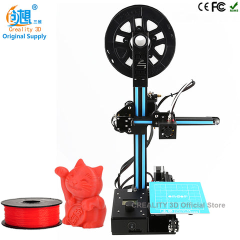 CREALITY 3D Large Printing Area 150*150*200mm Ender-2 Open Build Aluminium Frame 3D Printer kit printer 3d with Heated Bed