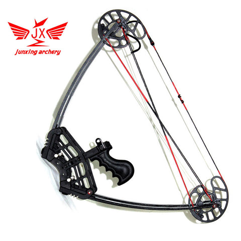 YZ JUNXING ARECHERY Black Warrior Bow Set,hunting ,Camouflage and Black Triangle Hunting Arrow Set and Compound Bow, Archery Set
