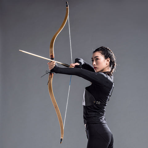 40 45lbs Traditional Archery Bow Shooting hunting Longbow High Quality Wooden Recurve Bow and Arrow Handmade Right and Left Hand