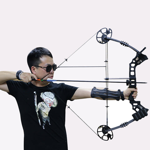 Free shipping archery dream compound bow 20-70lbs with continuous adjustment let-off 80% youth/adult fishing hunting compound bo