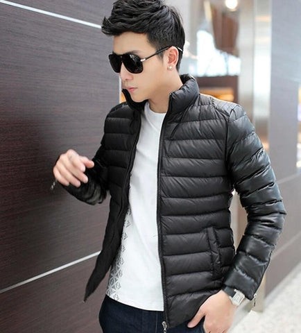 BERTHATINA Brand Handsome Clothing 2017 Down Parka Men Stand Collar Parka Outwear Casual Warm Winter Jacket Men