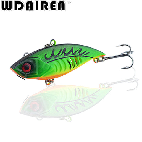 1Pcs 6.5cm 11g Winter Fishing Lures Hard Bait VIB With Lead Inside Lead Fish Ice Sea FishingTackle Swivel Jig Wobbler Lure