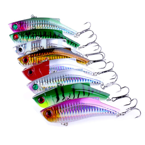 1pcs 9cm 27g Leurre Dur Wobbler Fishing Lure Ice Fishing Tackle VIB Iscas Artificiais Para Pesca Peche Jig Head Crankbait L31