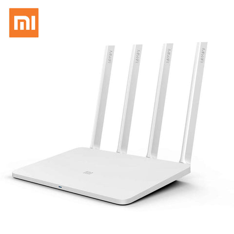 Xiaomi Mi WIFI Router 3 English Version WiFi Repeater 1167Mbps 2.4G 5GHz ROM 128MB 4 Antennas Wireless Routers APP Control
