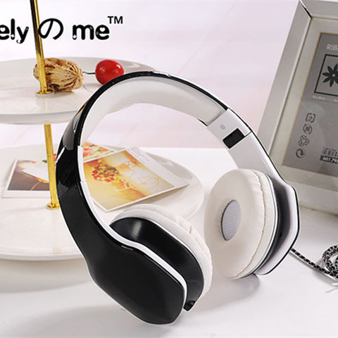 Candy Colour 3.5mm Stereo Music Mega Bass Headphone Headset Headband Big Earphone Earbuds with Microphone For Phone xiaomi
