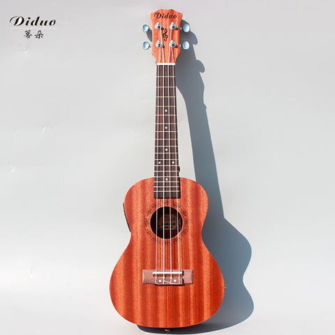 23 inch mahogany electric box with EQ ukulele and ukulele 4 string small guitar chic cool music to highlight unique personality