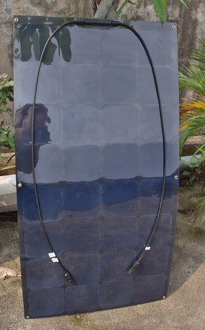 100W solar panel 12V all black for caravan, yacht, RV,motorhome and stong battery use 6pcs/lots