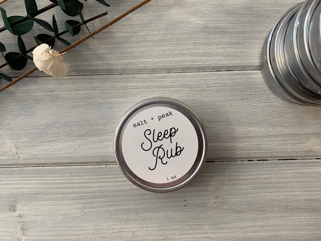 sleep rub, sleep balm