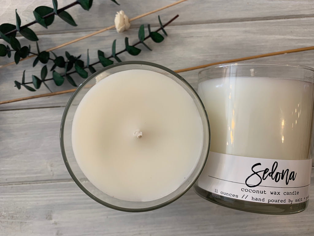 Coconut Wax Candle // Choose Your Scent