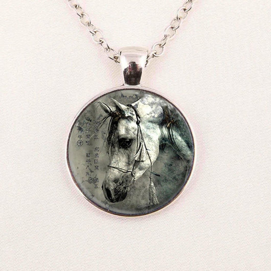 Elegant Horse Necklace