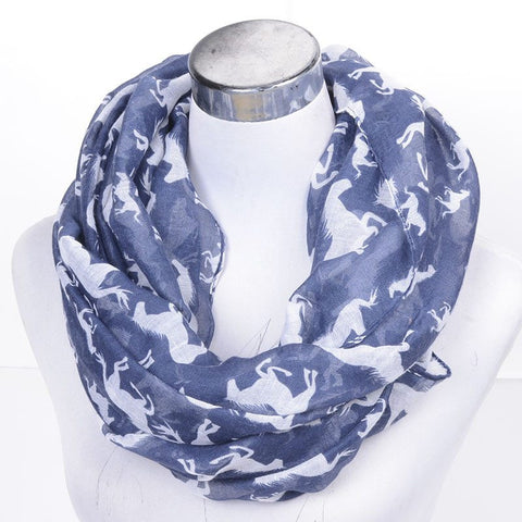 Beautiful Horse Print Scarf