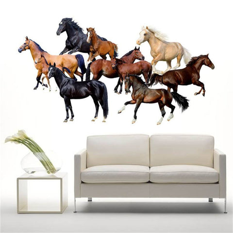 Beautiful Mixed Horse's Decal