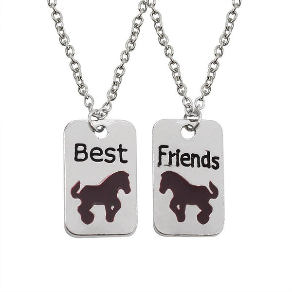 Best Friends Horse Necklaces