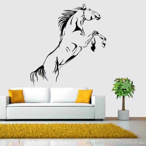 Large Vinyl Horse Decal