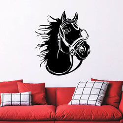 New Horse's Head Art Decal