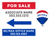 RE/MAX® For Sale Directional Signs