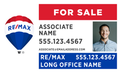 RE/MAX® Office Prominent For Sale Signs - With Photo