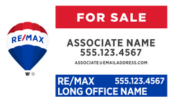 RE/MAX® Office Prominent For Sale Signs