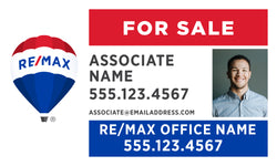 RE/MAX® Standard For Sale Signs - With Photo