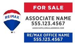 RE/MAX® Standard For Sale Signs